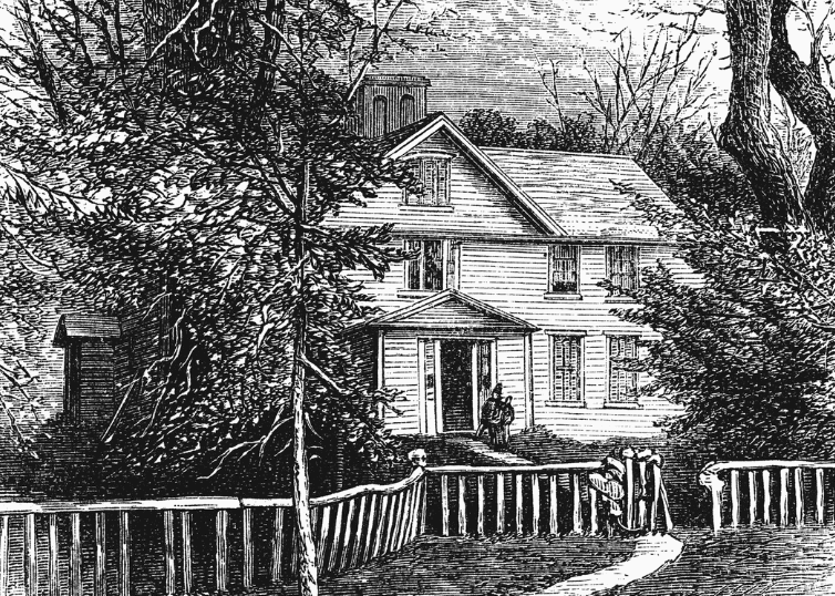 Famous literary home of Louisa May Alcott