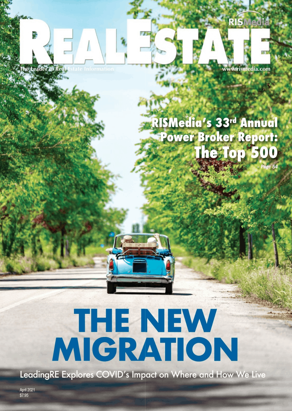 RISMedia April Magazine cover